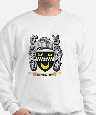 Coventry Family Crest - Coventry Coat o Sweatshirt