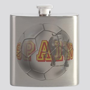Spanish Soccer Ball Flask
