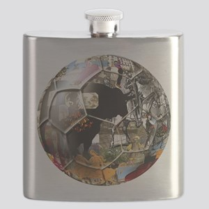 Spanish Culture Football Flask