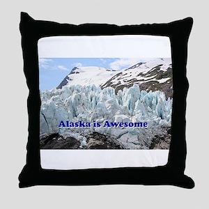 Alaska is Awesome: Portage Glacier, USA Throw Pill