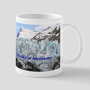 Alaska is Awesome: Portage Glacier, USA Mug