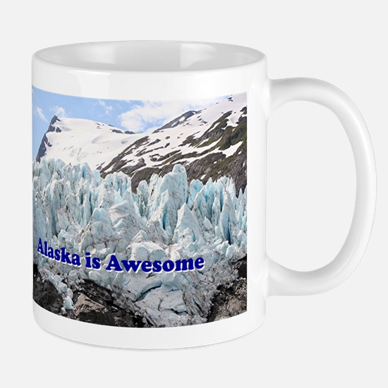 Alaska is Awesome: Portage Glacier, USA Mug
