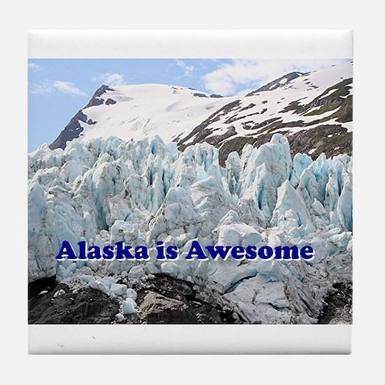 Alaska is Awesome: Portage Glacier, USA Tile Coast