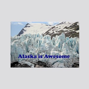 Alaska is Awesome: Portage Glacier, USA Rectangle