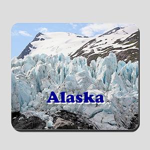 Alaska: Portage Glacier, USA Mousepad