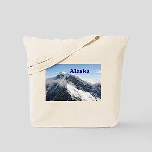 Alaska: Alaska Range, USA Tote Bag