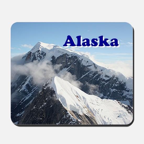Alaska: Alaska Range, USA Mousepad