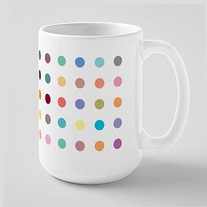 Spots design on Large Mug