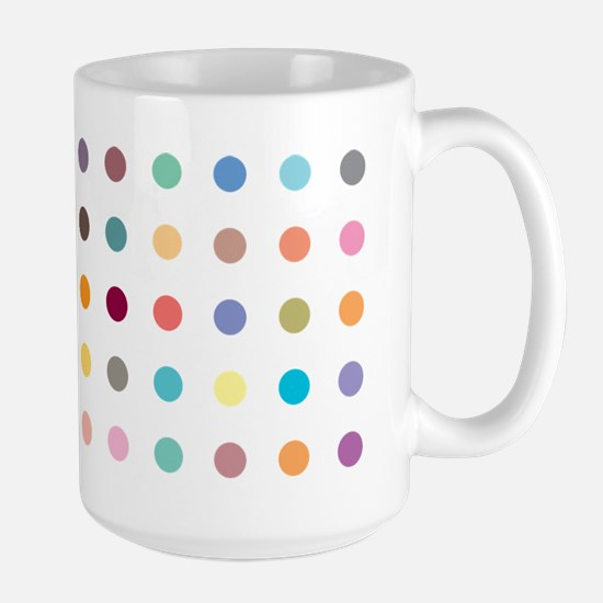Spots design on Large Mug