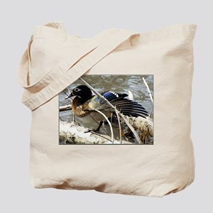 Wood Duck Hen Tote Bag