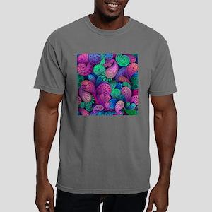 Colorful Paisley Mens Comfort Colors Shirt
