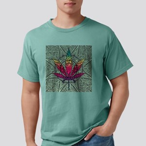 Marijuana Leaf Mens Comfort Colors Shirt