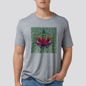 Marijuana Leaf Mens Tri-blend T-Shirt
