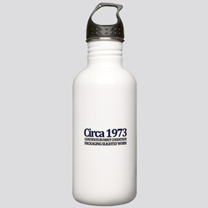 Funny 40th Gifts, Circa 1973 Stainless Water Bottl