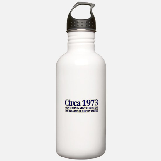 Funny 40th Gifts, Circa 1973 Water Bottle