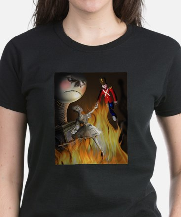 The steadfast tin soldier Women's Dark T-Shirt