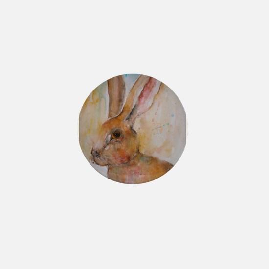 Solo Hare ~ Mini Button