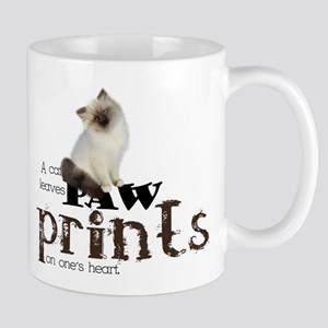 Brown / White Birman Cat Mug
