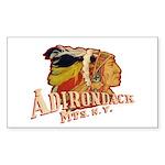 Adirondack Indian Sticker (Rectangle)