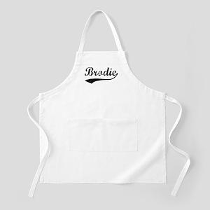 Vintage: Brodie BBQ Apron