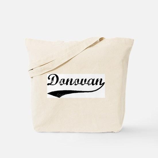 Vintage: Donovan Tote Bag