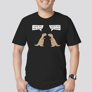 I Love You This Much Men's Fitted T-Shirt (dark)