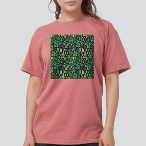 Forest Pattern Womens Comfort Colors Shirt