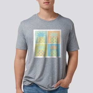 Pineapples Mens Tri-blend T-Shirt