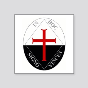 Knights Templar (Latin) Sticker