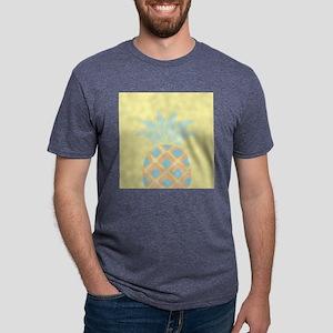 Pineapple Mens Tri-blend T-Shirt