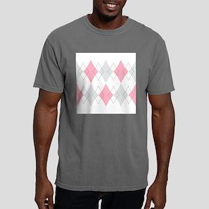 Argyle Pattern Mens Comfort Colors Shirt