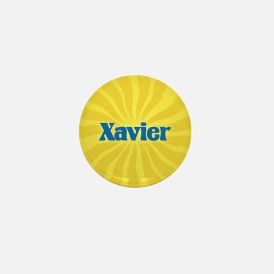 Xavier Sunburst Mini Button