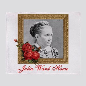 Julia Ward Howe Throw Blanket