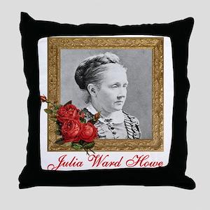 Julia Ward Howe Throw Pillow
