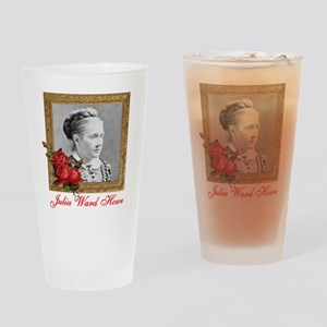 Julia Ward Howe Drinking Glass