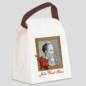 Julia Ward Howe Canvas Lunch Bag