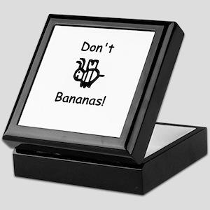 Don't B Bananas! Keepsake Box
