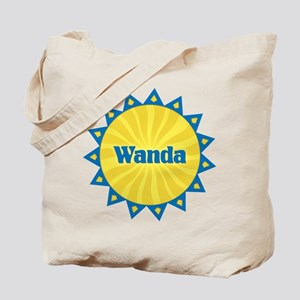 Wanda Sunburst Tote Bag