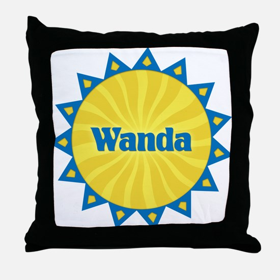 Wanda Sunburst Throw Pillow