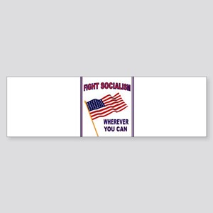 ANTI-SOCIALIST Sticker (Bumper)