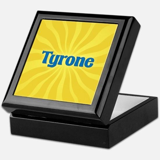 Tyrone Sunburst Keepsake Box