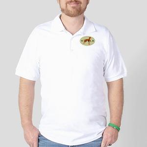 vizsla dog Golf Shirt