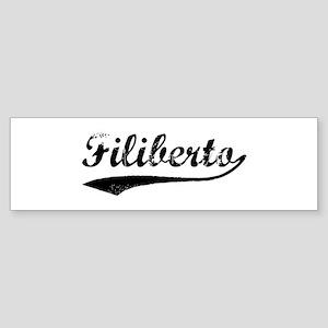 Vintage: Filiberto Bumper Sticker
