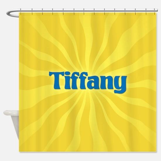 Tiffany Sunburst Shower Curtain