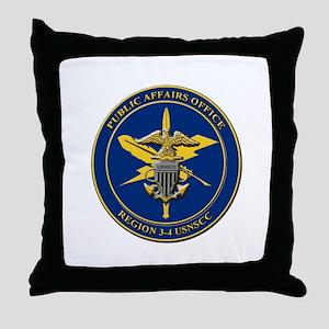 Naval Sea Cadet Corps - Region 4-1 PAO Throw Pillo