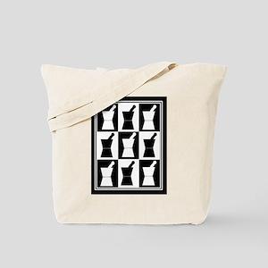 pharmacist blanket popart bw Tote Bag