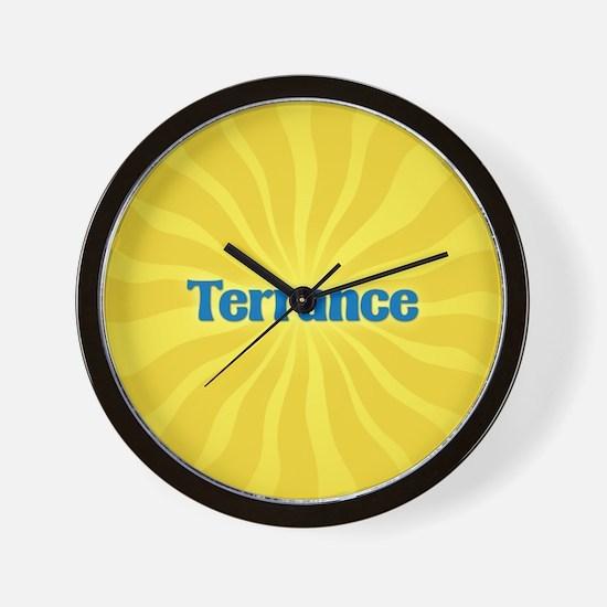 Terrance Sunburst Wall Clock