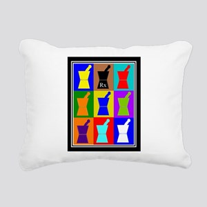 Pharmacist blanket popart 1 Rectangular Canvas