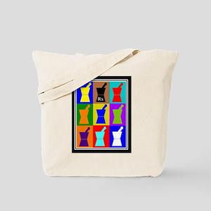 Pharmacist blanket popart 1 Tote Bag
