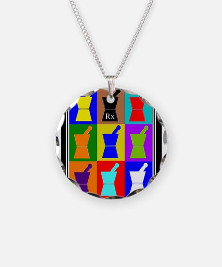Pharmacist blanket popart 1.PNG Necklace